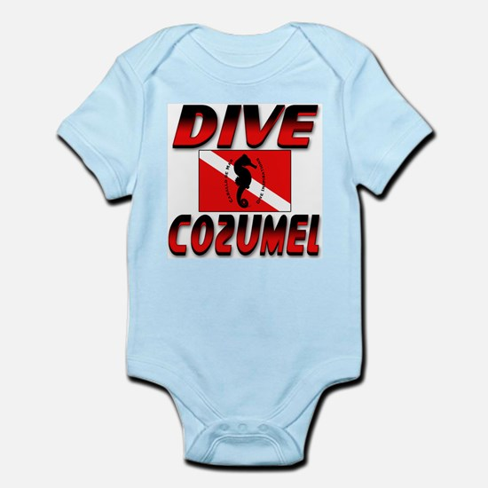 Dive Cozumel (red) Infant Creeper
