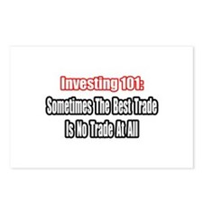 """""""Best Stock Trade"""" Postcards (Package of 8)"""