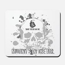 Mutiny's In The Air (Gray) Mousepad