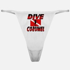 Dive Cozumel (red) Classic Thong