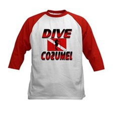 Dive Cozumel (red) Tee