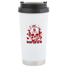 Mutiny's In The Air (Red) Travel Mug