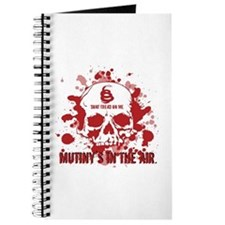 Mutiny's In The Air (Red) Journal
