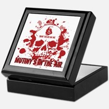 Mutiny's In The Air (Red) Keepsake Box
