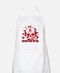Mutiny's In The Air (Red) BBQ Apron