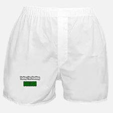 """I'm Feeling Bullish"" Boxer Shorts"