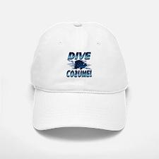 Dive Cozumel (blue) Baseball Baseball Cap
