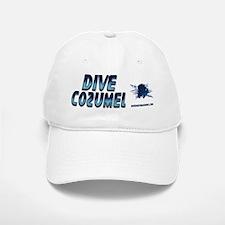 Dive Cozumel (blue) Baseball Baseball Cap #2