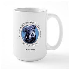 Rottie (circle) Mug