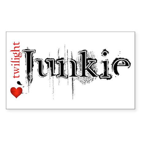 Twilight Junkie Rectangle Sticker