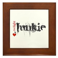 Twilight Junkie Framed Tile