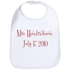 Mrs Hendrickson July 17 201 Bib