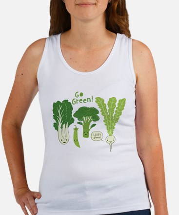 Go Green! Women's Tank Top