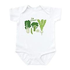 Go Green! Infant Bodysuit