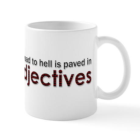 adjectives Mugs