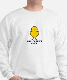 Mail Carrier Chick Sweatshirt