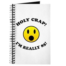 85th Birthday Gag Gifts Journal