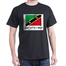 Saint Kitts & Nevis Flag T-Shirt