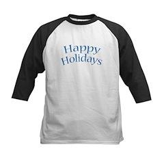 Happy Holidays - Kids Baseball Jersey