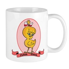 Polish Chick Small Mug