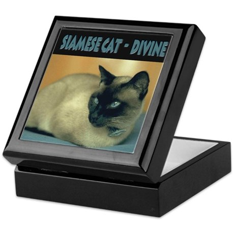 Siamese Cat Breed - Keepsake Box