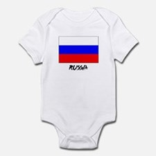 Russia Flag Infant Bodysuit
