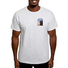Old Man of the Mountain at Dusk Ash Grey T-Shirt