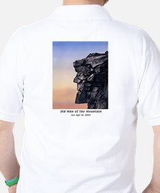 Old Man of the Mountain at Dusk Polo Shirt