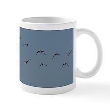 Snow Geese and Moon Mug