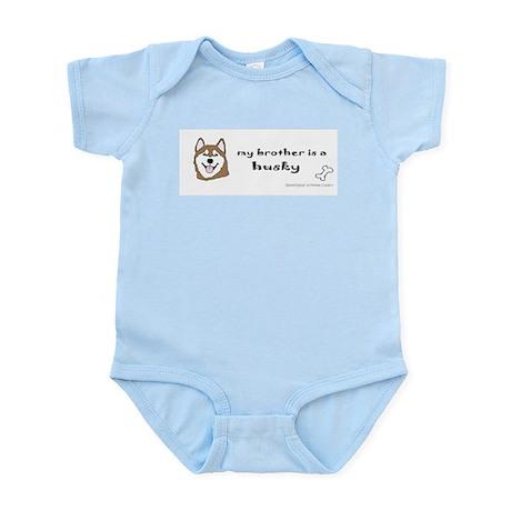 husky gifts Infant Bodysuit