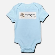 husky gifts Infant Bodysuit