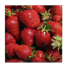 Strawberry Tile Coaster