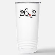 Funny 26.2 Travel Mug
