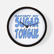 Sugar Tongue Wall Clock