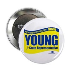 "Vote Kevin Young 2.25"" Button"