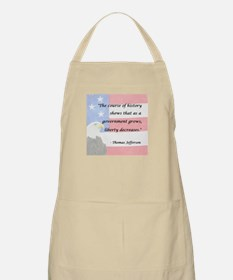 Government Grows, Liberty Decreases BBQ Apron