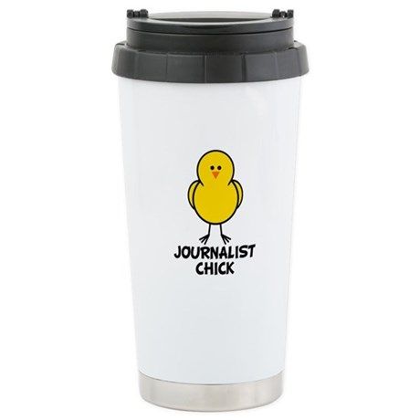 Journalist Chick Stainless Steel Travel Mug