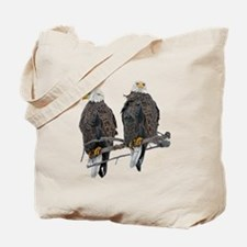 TWIN EAGLES Tote Bag