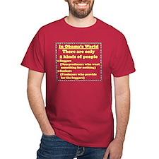 """Obama's World"" T-Shirt"