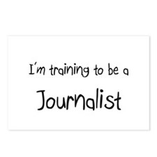 I'm training to be a Journalist Postcards (Package