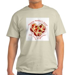 Tulips, Let Love Bloom, Mother's Day T-Shirt