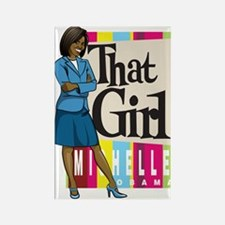That Girl! Rectangle Magnet