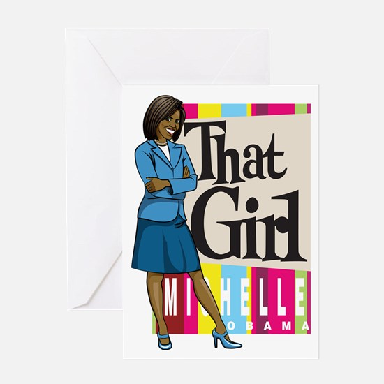 That Girl! Greeting Card