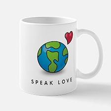 Cute Peace love volunteer Mug