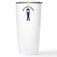 Light Police Woman Travel Mug
