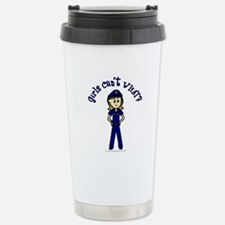 Light Police Woman Travel Mug