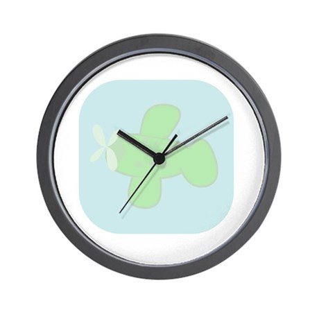 GREEN GIANT AIPLANE Wall Clock