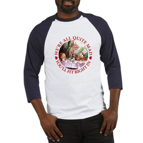 MAD HATTER'S TEA PARTY Baseball Jersey