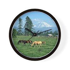 Mountain Landscape - Wall Clock