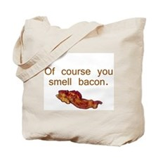 Cute Bacon lover Tote Bag